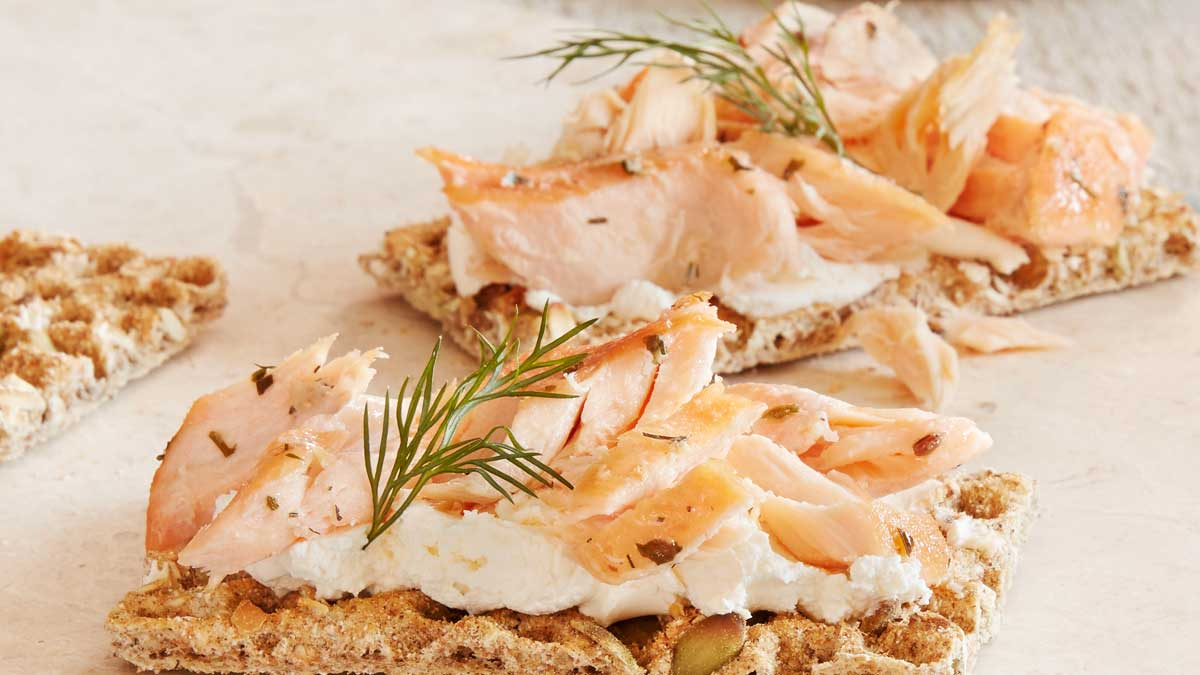 Salmon Toppers