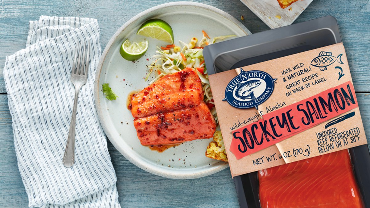 Sockeye Salmon with Chipotle Honey Glaze