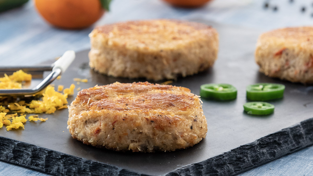 Deep-sea Red Crab Cakes