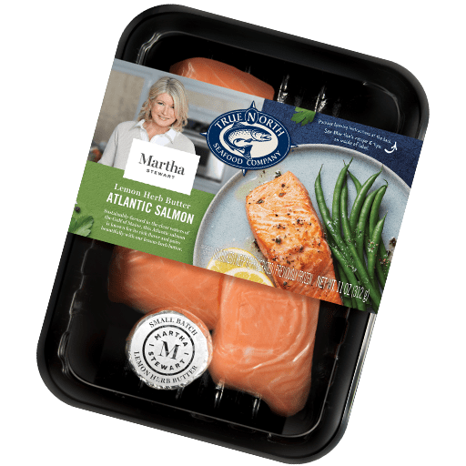 Atlantic Salmon with Lemon Herb Butter