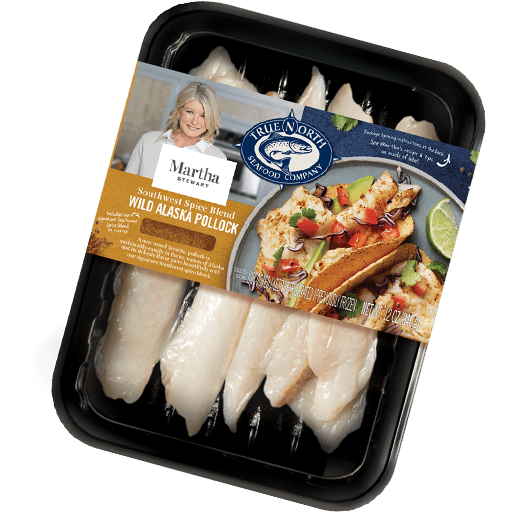 Alaska Pollock with Southwest Spice Blend