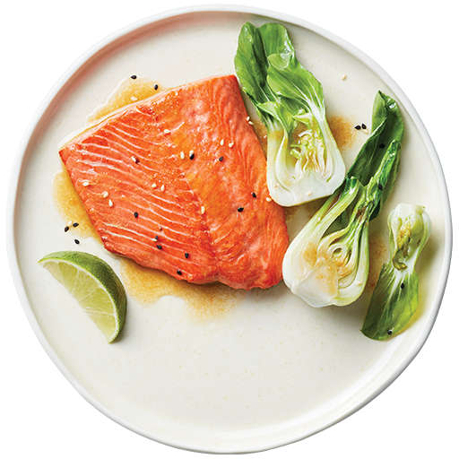 Pan-Seared Sockeye Salmon with Miso Butter